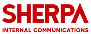 sherpa internal communications logo